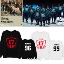 ALLKPOPER Kpop Seventeen Sweatershirt [Going Seventeen] Sweater  Wonwoo Hoodie Pullover DK