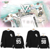 ALLKPOPER Kpop Seventeen CARAT Sweater Unsiex 17 VERNON Hoodie THE8 Sweatershirt MINGYU