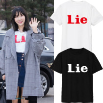 ALLKPOPER KPOP Girls' Generation Taeyeon T-shirt SNSD MY VOICE Tshirt Unisex Cotton Tee