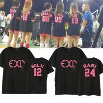 ALLKPOPER KPOP EXID MINI Album AH YEAH Tshirt HaNi T-shirt Unisex JUNGHWA New LE SOLJI