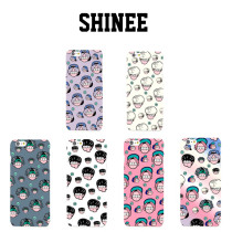 ALLKPOPER Kpop SHINEE FIVE Cartoon Phone Case Skins TAEMIN Cellphone Case KEY MINHO ONEW