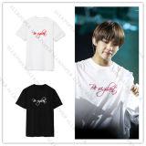 KPOP BTS V T-shirt Airport Fashion Short Sleeve Unisex Tshirt New Cotton Tee