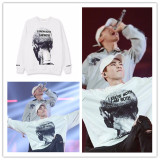 ALLKPOPER KPOP EXO XIUMIN Sweater Airport Fashion Hoodie Unisex Pullover Long Sleeve New