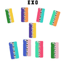 ALLKPOPER KPOP EXO CHANYEOL Cellphone Case XIUMIN Mobile Cover SEHUN Phone Shell New