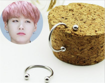 ALLKPOPER BTS Suga Earrings Bangtan Boys Fashion Jewelry