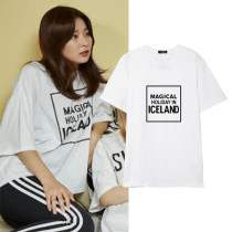 ALLKPOPER Kpop Red Velvet SeulGi T-shirt 2017 New Casual Cotton Tee tops Short Sleeve
