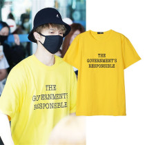 ALLKPOPER Kpop VIXX Ken T-shirt Shooting Street Letter Tshirt Concert  LIVE FANTASIA  Tee