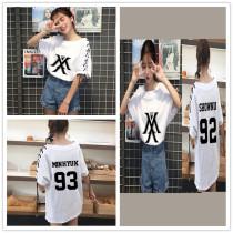 ALLKPOPER KPOP Monsta x T-shirt WONHO Tops Tshirt Fashion Women Cotton JOOHEON Cotton Tee