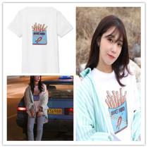 ALLKPOPER KPOP A Pink T-shirt Jeong Eun Ji Same Style Tshirt Merhcandise Tee Tops Cotton