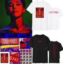 ALLKPOPER KPOP Bigbang T-shirt G-Dragon Merchandise Tshirt Unsiex Cotton Tee Short Sleeve