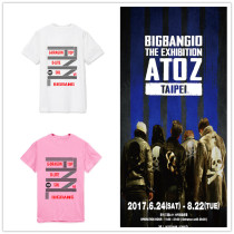 ALLKPOPER KPOP Bigbang 10th Anniversary T-shirt TaeYang Unisex Tshirt G-Dragon Cotton Tee
