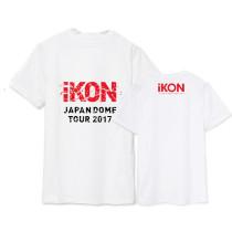 ALLKPOPER KPOP IKON DOME TOUR T-shirt B.I Tshirt Kim Dong Hyuk Cotton Bobby Short Sleeve