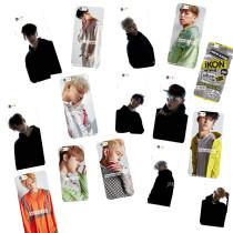 ALLKPOPER KPOP IKON Cellphone Case BI NEW KIDS BEGIN Phone Cover Yunhyeong Mobile Shell