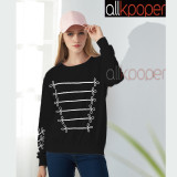 ALLKPOPER KPOP BTS Jung Kook Sweater Unisex Sweatershirt Long Sleeve Pullover For BTS ARMY