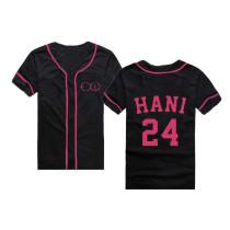 ALLKPOPER KPOP EXID Baseball Jersey T-shirt Solji Tshirt Junghwa Unisex Cotton Le Tee Hani