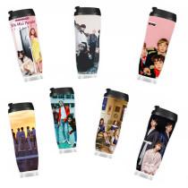 ALLKPOPER Kpop Seventeen Water Cup Astro Blackpink EXO MAMAMOO Monsta x Twice VIXX Bottle
