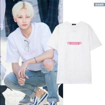 ALLKPOPER Kpop Seventeen 17 JEONGHAN T-shirt Street Shooting Tshirt Unisex 2017 New Tee
