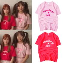 ALLKPOPER Kpop Apink T-shirt Kim Nam Joo Tshirt 2017 New Summer Yoon Bo Mi Tee