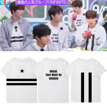 ALLKPOPER Kpop Infinite Air Tshirt SungGyu DongWoo HOYA L WooHyun SeongYeol T-shirt Tops
