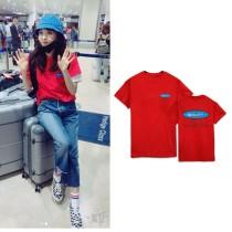 ALLKPOPER Kpop 2NE1 Dara T-shirt 4Minute Kim Hyun A Ins Tshirt 2017 New Casual Cotton Tee