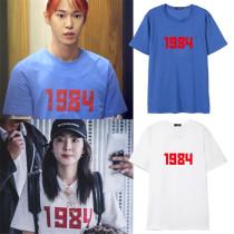 ALLKPOPER Kpop NCT 127 DoYoung T-shirt Firetruck 2NE1 Dara Tshirt Cotton Tee Tops