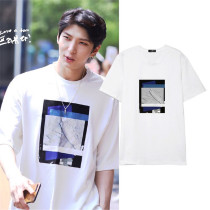 Allkopoper KPOP VIXX LEO T-shirt Street Shooting Tshirt 2017 New Summer Tee Tops