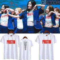 ALLKPOPER KPOP Pristin T-shirt Concert Tshirt Pinky KangKyungWon Min Kyoeng Na Young Tee Tops