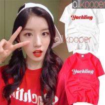 ALLKPOPER  KPOP Pristin Park Si Yeon T-shirt Selfie Tshirt 2017 New Casual Letter Tee Tops