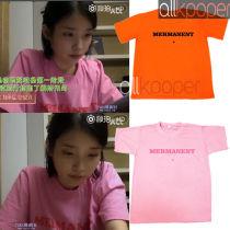ALLKPOPER KPOP IU T-shirt Show Tshirt Lee Ji En Casual Tee Tops BOO 2017 New