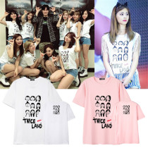 ALLKPOPER KPOP Twice T-shirt Concert Tshirt 2017 New Summer Tee Tops MOMO Mina Lim Na Yeon