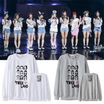 ALLKPOPER KPOP Twice Sweater Concert Hoodie 2017 New MOMO Mina Lim Na Yeon Sweatershirt