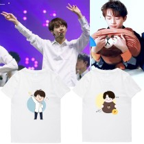 ALLKPOPER KPOP Produce 101 Kimyongguk T-shirt Tshirt 2017 New Cartoon Casual Tee For Fans Gift