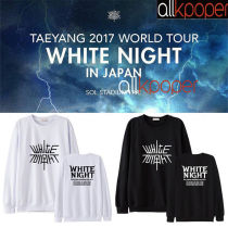 ALLKPOPER KPOP Bigbang Sweater WHITE NIGHT Concert Dong Young-Bae Hoodie G-Dragon Hoody Pollover Sweatershirt 2017 New