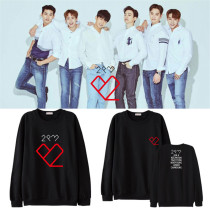 ALLKPOPER KPOP 2PM Sweater 6nights Concert Hoody Hoodie Pollover Jang WooYoung Nichkhun Casal Sweatershirt