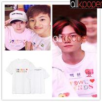 ALLKPOPER  KPOP SM Town T-shirt In Jeju Yoona Tshirt BOA Shinee Tee Casual Tops 2017 NEW