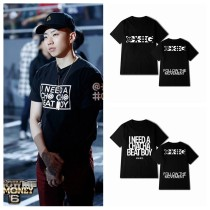 ALLKPOPER KPOP 2PM Gray T-shirt Street Shooting Tshirt Concert Tee Tops Fashion GENTLEMEN'S GAME