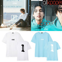 ALLKPOPER KPOP 1PUNCH ONE T-shirt DEBUT TEASER Album Tshirt Tee Tops ONE DAY 2017 NEW For KO Gift