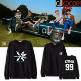 ALLKPOPER KPOP EXO Sweater The War Hoody Hoodie Pollover Sweatershirt XIUMIN KAI CHEN 2017 New