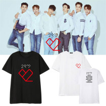 ALLKPOPER KPOP 2PM T-shirt 6nights Concert Tshirt Tee Ok TaecYeon Nichkhun Casal Tops Jang WooYoung 2017 New
