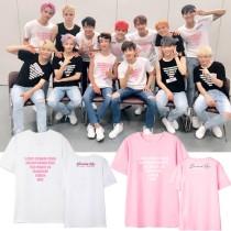 ALLKPOPER KPOP SEVENTEEN T-shirt Concert Tshirt Casual letter DIAMOND EDGE Tee Tops DK S.COUPS WOOZI