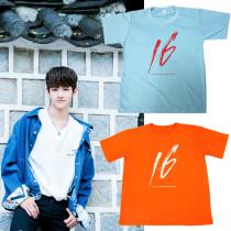 ALLKPOPER KPOP Produce 101 Kim Samuel T-shirt Solo SIXTEEN Tshirt 2017 New Casual Tee