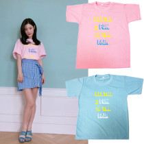 ALLKPOPER KPOP IOI Chae Yeon T-shirt Magazine Tshirt 2017 New Casual Tee Tops