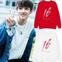 ALLKPOPER KPOP Produce 101 Kim Samuel Sweater Solo SIXTEEN Hoodie Sweatershirt Casual