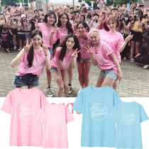 ALLKPOPER KPOP Girls' Generation T-shirt 10th Anniversary Holiday Night Concert Tshirt Casual Tee Tops SNSD