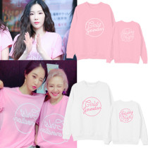 ALLKPOPER KPOP Girls' Generation Sweater 10th Anniversary Holiday Night Concert Hoodie Hoody Casual Letter Pollover SNSD