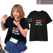 ALLKPOPER KPOP EXID HANI T-shirt 2017 New Tshirt Letter Short Sleeve Tops