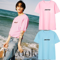 ALLKPOPER KPOP 1PUNCH ONE T-shirt T-shirt Casual Letter Tee Tops ONE DAY