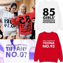 ALLKPOPER KPOP Girls'Generation Sweater SNSD Hoodie Concert Hoody Sweatershirt HYOYEON
