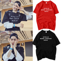 ALLKPOPER KPOP Produce 101 JBJ komu T-shirt Selfie Tshirt Casual Letter Tee Tops Produce 101