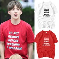 ALLKPOPER KPOP Seventeen SEUNG CHEOL T-shirt Tshirt Casual Letter Tee Tops